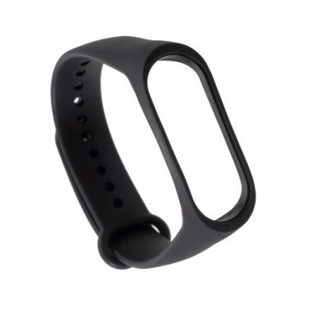 Óraszíj - Pótszíj Xiaomi Mi Band 3 -RMPACK- Style Fekete