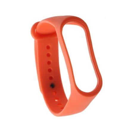 Óraszíj - Pótszíj Xiaomi Mi Band 3 -RMPACK- Style Narancssárga