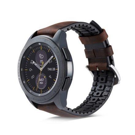 Huawei Watch GT Pótszíj - Óraszíj Bőr / Szilikonbelsővel Mintás A04
