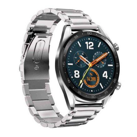 Huawei Watch GT Fémszíj Pótszíj - Óraszíj Ezüst