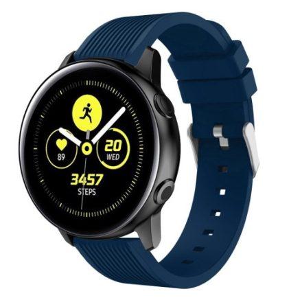 Szilikon Óraszíj - Pótszíj Samsung Galaxy Active SM-R500 Sport Style Series Kék