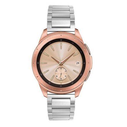 Samsung Galaxy Watch 42mm Pótszíj Fémszíj Óraszíj - Ezüst
