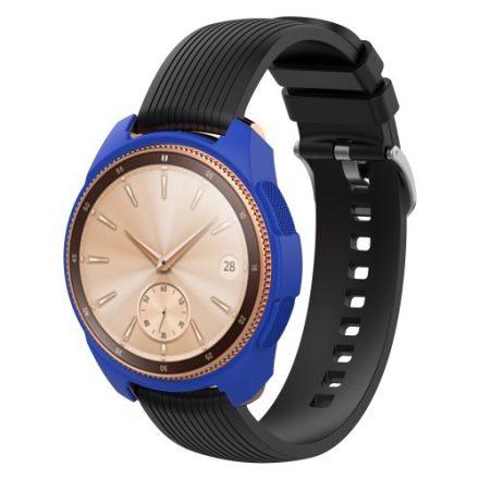 Samsung Galaxy Watch 42mm Szilikon Tok - Keretvédelemmel Világoskék