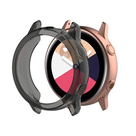 Samsung Galaxy Watch Active Védőtok - Keret TPU Protective Fekete