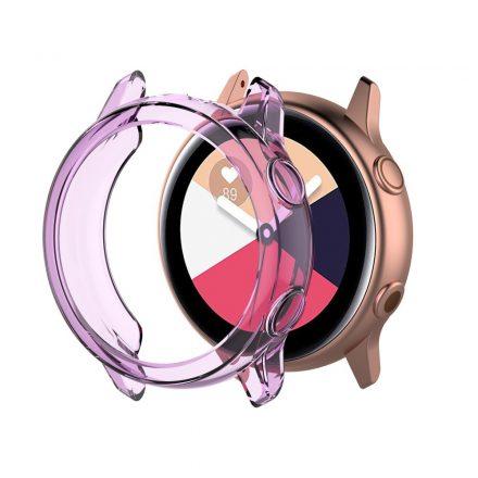 Samsung Galaxy Watch Active Védőtok - Keret TPU Protective Lila
