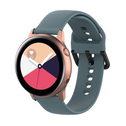Samsung Galaxy Watch Active Szilikon Pótszíj Óraszíj - Smart Collect Szürke