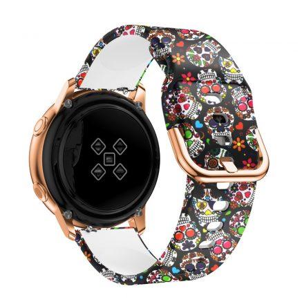 Samsung Galaxy Watch Active Óraszíj Pótszíj - Mintás RMPACK Style A01