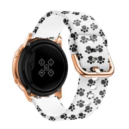 Samsung Galaxy Watch Active Óraszíj Pótszíj - Mintás RMPACK Style A02
