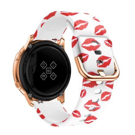 Samsung Galaxy Watch Active Óraszíj Pótszíj - Mintás RMPACK Style A03
