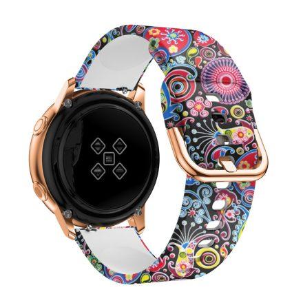 Samsung Galaxy Watch Active Óraszíj Pótszíj - Mintás RMPACK Style A04