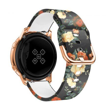 Samsung Galaxy Watch Active Óraszíj Pótszíj - Mintás RMPACK Style A05