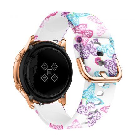 Samsung Galaxy Watch Active Óraszíj Pótszíj - Mintás RMPACK Style A06