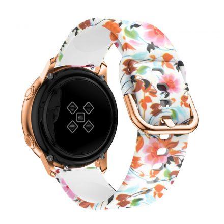 Samsung Galaxy Watch Active Óraszíj Pótszíj - Mintás RMPACK Style A07