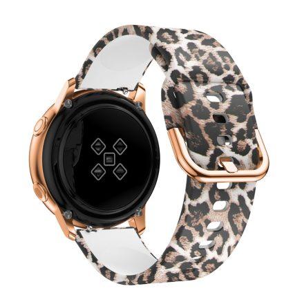 Samsung Galaxy Watch Active Óraszíj Pótszíj - Mintás RMPACK Style A08