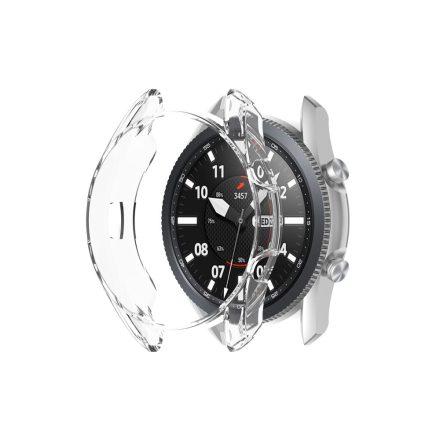 RMPACK Samsung Galaxy Watch 3 45mm Védőkeret SM-840 Áttetsző