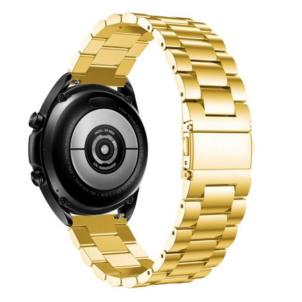 RMPACK Samsung Galaxy Watch 3 45mm Fémszíj Pótszíj Óraszíj Arany