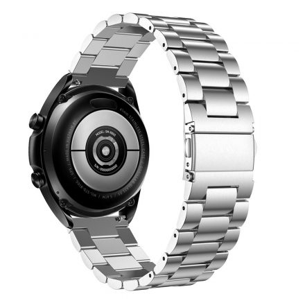 RMPACK Samsung Galaxy Watch 3 45mm Fémszíj Pótszíj Óraszíj Ezüst