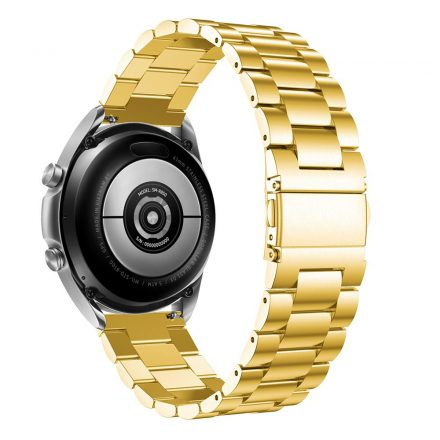 RMPACK Samsung Galaxy Watch 3 41mm Fémszíj Pótszíj Óraszíj Arany