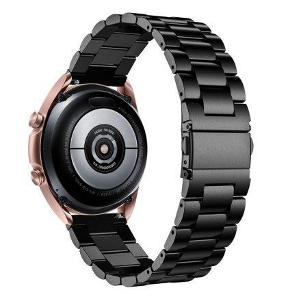 RMPACK Samsung Galaxy Watch 3 41mm Fémszíj Pótszíj Óraszíj Fekete