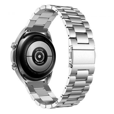 RMPACK Samsung Galaxy Watch 3 41mm Fémszíj Pótszíj Óraszíj Ezüst