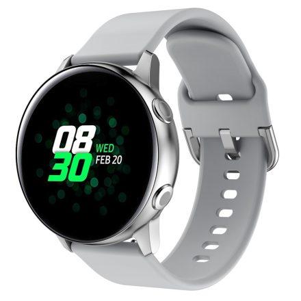 RMPACK Huawei Watch GT2e GT GT2 46mm Pótszíj Óraszíj Szilikon Szíj Elegant Series Szürke