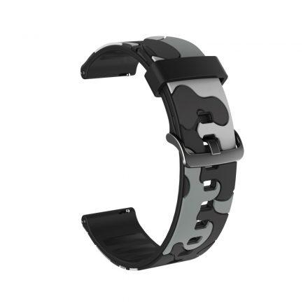 RMPACK Huawei Watch GT2e GT GT2 46mm Terepmintás Pótszíj Óraszíj Szilikon Szíj Camouflage Series A04