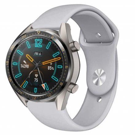 RMPACK Huawei Watch GT Pótszíj Szilikon Óraszíj Soft Series Szürke