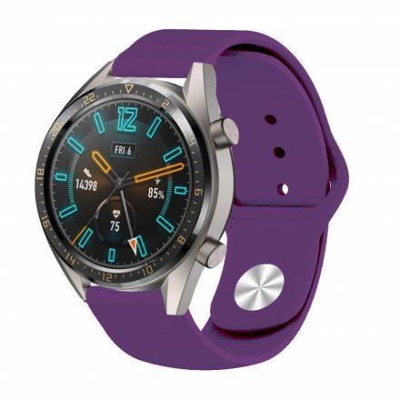 RMPACK Huawei Watch GT Pótszíj Szilikon Óraszíj Soft Series Lila