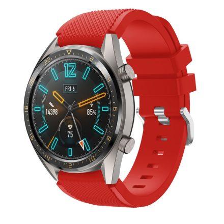 RMPACK Huawei Watch GT Sport Style Pótszíj Óraszíj Szilikon Piros