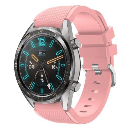 RMPACK Huawei Watch GT Sport Style Pótszíj Óraszíj Szilikon Rózsaszín