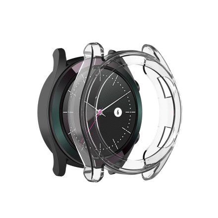 RMPACK Huawei Watch GT Védőkeret Szilikon Keret Áttetsző