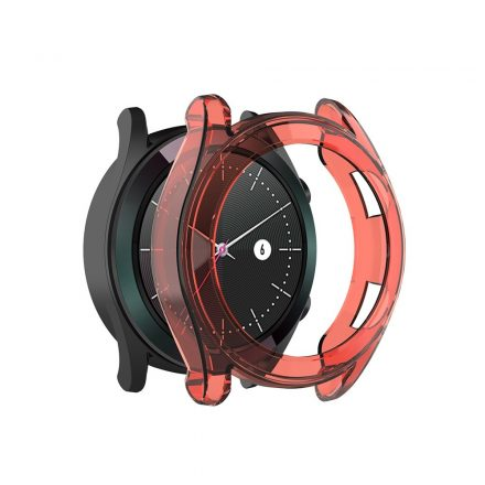 RMPACK Huawei Watch GT Védőkeret Szilikon Keret Piros
