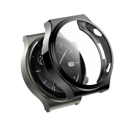 RMPACK Huawei Watch GT 2 Pro / Classic / Sport Védőkeret Szürke + Beépített Képernyővédő Üveg
