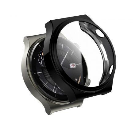 RMPACK Huawei Watch GT 2 Pro / Classic / Sport Védőkeret Fekete + Beépített Képernyővédő Üveg