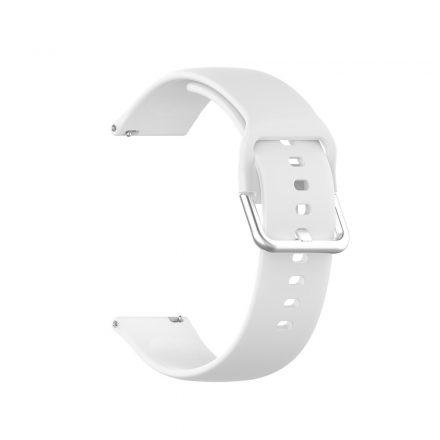 RMPACK Huawei Watch GT 2 Pro Pótszíj Óraszíj Szilikon ( S ) Méret 22mm Elegant Series Fehér