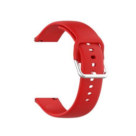 RMPACK Huawei Watch GT 2 Pro Pótszíj Óraszíj Szilikon ( S ) Méret 22mm Elegant Series Piros