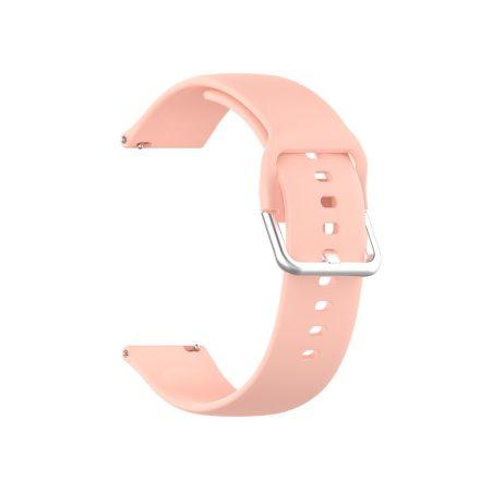 RMPACK Huawei Watch GT 2 Pro Pótszíj Óraszíj Szilikon ( S ) Méret 22mm Elegant Series Rózsaszín