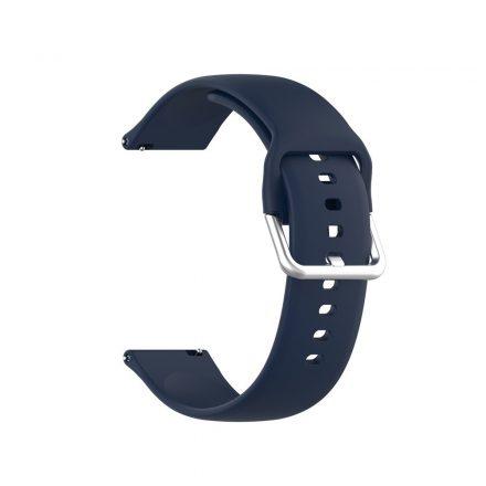 RMPACK Huawei Watch GT 2 Pro Pótszíj Óraszíj Szilikon ( S ) Méret 22mm Elegant Series Sötétkék