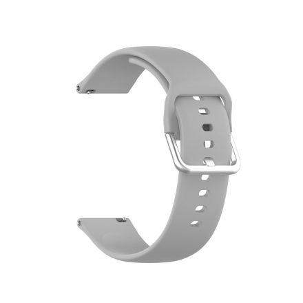 RMPACK Huawei Watch GT 2 Pro Pótszíj Óraszíj Szilikon ( L ) Méret 22mm Elegant Series Szürke