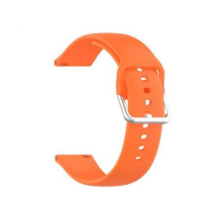 RMPACK Huawei Watch GT 2 Pro Pótszíj Óraszíj Szilikon ( L ) Méret 22mm Elegant Series Narancssárga