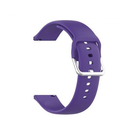 RMPACK Huawei Watch GT 2 Pro Pótszíj Óraszíj Szilikon ( L ) Méret 22mm Elegant Series Lila