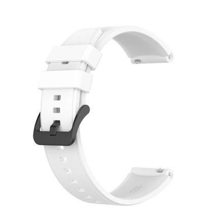 RMPACK Huawei Watch GT 2 Pro Szilikon Óraszíj Pótszíj Prémium 22mm Fehér
