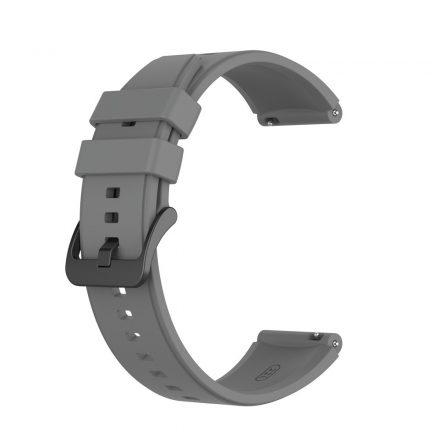 RMPACK Huawei Watch GT 2 Pro Szilikon Óraszíj Pótszíj Prémium 22mm Szürke