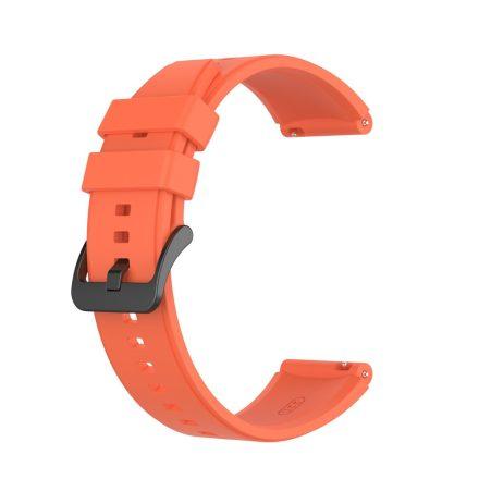 RMPACK Huawei Watch GT 2 Pro Szilikon Óraszíj Pótszíj Prémium 22mm Narancssárga