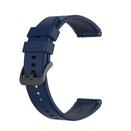 RMPACK Huawei Watch GT 2 Pro Szilikon Óraszíj Pótszíj Prémium 22mm Sötétkék