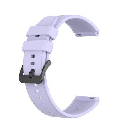 RMPACK Huawei Watch GT 2 Pro Szilikon Óraszíj Pótszíj Prémium 22mm Lila