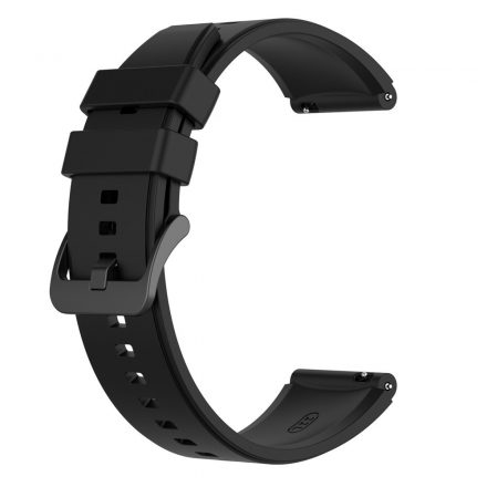 RMPACK Huawei Watch 3 / Watch 3 Pro Pótszíj Szilikon Óraszíj 22mm Fekete