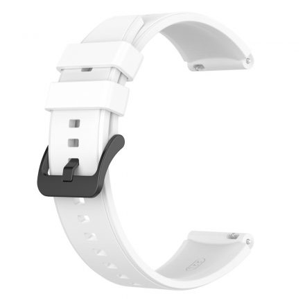 RMPACK Huawei Watch 3 / Watch 3 Pro Pótszíj Szilikon Óraszíj 22mm Fehér