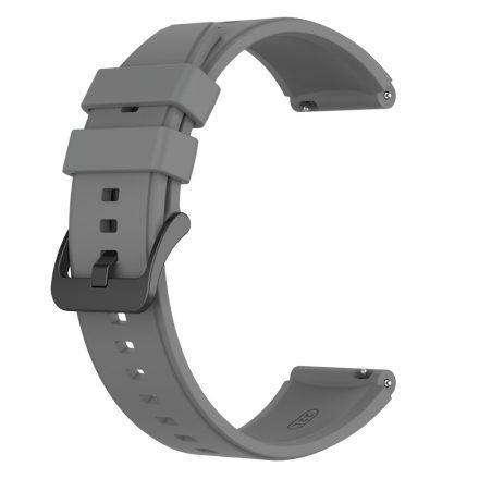 RMPACK Huawei Watch 3 / Watch 3 Pro Pótszíj Szilikon Óraszíj 22mm Szürke