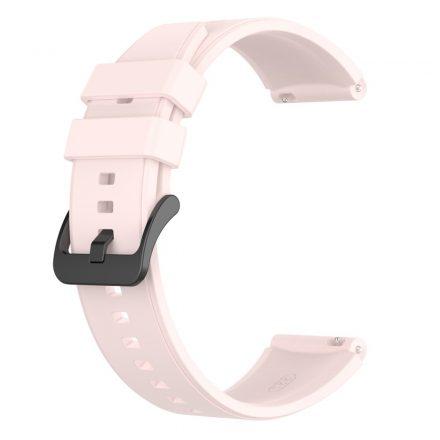 RMPACK Huawei Watch 3 / Watch 3 Pro Pótszíj Szilikon Óraszíj 22mm Rózsaszín